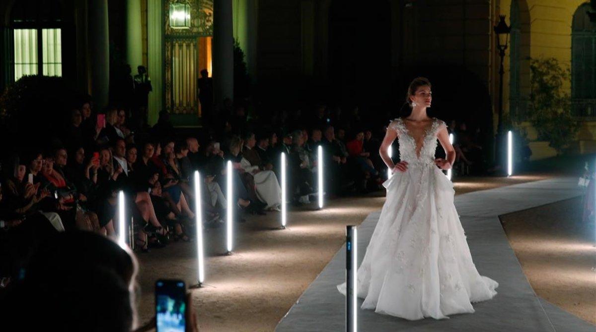 La ex de Weinstein trae sus princesas de cuento a la Barcelona Bridal