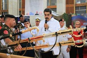 El presidente de Venezuela,Nicolas Maduro, en un evento públcioen Caracas. EFE
