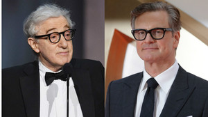 Colin Firth (derecha) ha declarado que no volverá a trabajar con Woody Allen.