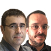 Xavier Bonal y Adrián Zancajo