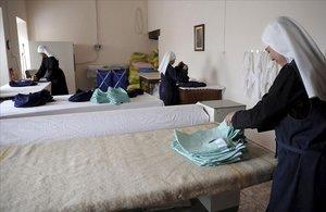 Monges confinades: «Estem vivint una doble clausura»