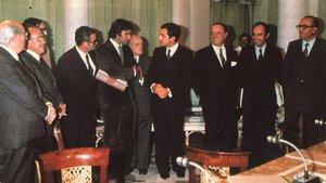 Pactes de la Moncloa: evocar el consens en temps difícils