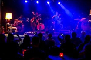 Una actuación en la sala Music Hall de Barcelona.