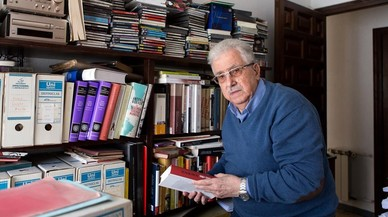 """Mor als 86 anys Josep Fontana, l'historiador """"roig i catalanista"""""""