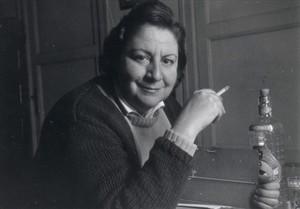 La escritora Gloria Fuertes.