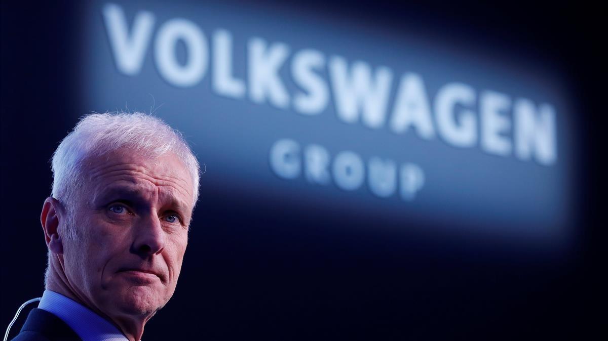El presidente de Volkswagen, Matthias Müller.