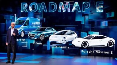 El grupo Volkswagen invertirá 34.000 millones en nuevas tecnologias hasta el 2022