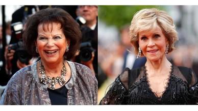 """Claudia Cardinale y Jane Fonda dijeron """"no es no"""" (sin éxito)"""