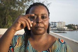 Nina Wambiji, la salvadora de sirenes