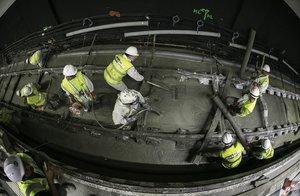Comencen les obres per renovar les vies de l'L-2 de metro de Barcelona entre Paral·lel i Sagrada Família