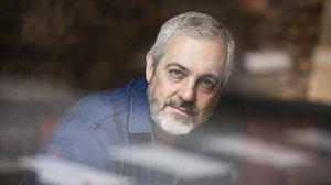 El escritor brasileño José Roberto Torero, en un hotel de Barcelona.