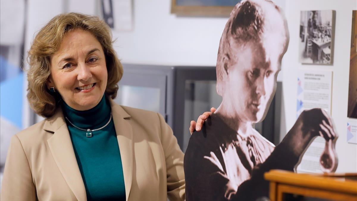 Adela Muñoz Páez, en la Casa de la Ciencia de Sevilla