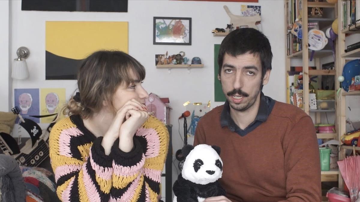 Una captura del vídeo de Pol Mallofré.