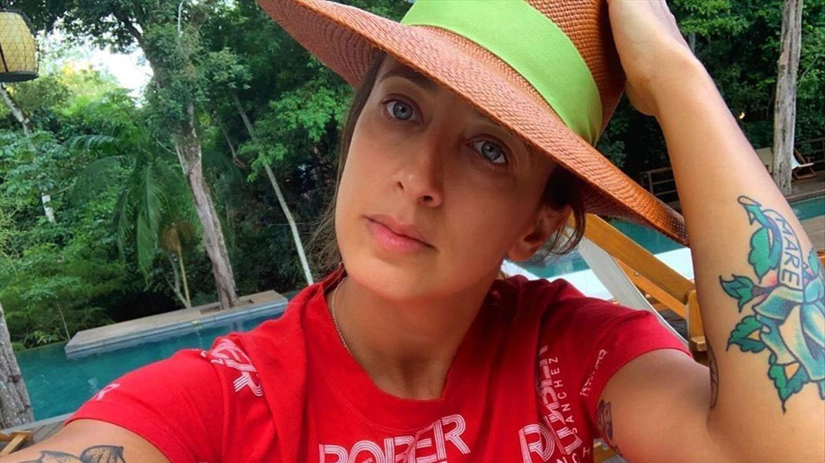 La escritora Paula Vázquez.