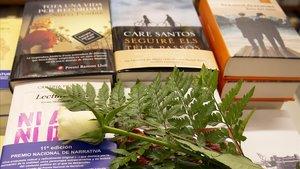 Els llibreters creuen els dits davant d'un altre Sant Jordi incert i estrany