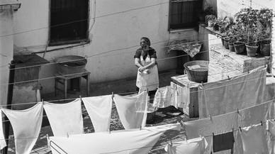 La Barcelona en blanco y negro de los 60 y 70 vista por la fotógrafa Carme Garcia