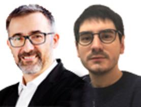 Antoni Gutiérrez-Rubí i Santiago Castelo
