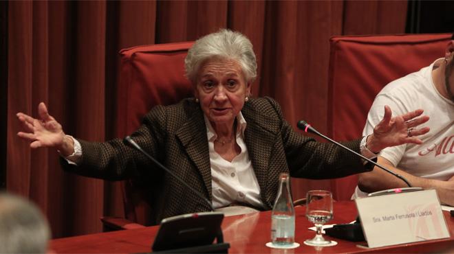 Quan Marta Ferrusola es lamentava que no tenien ni un duro