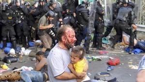 hungria condena refugiado 7 años carcel