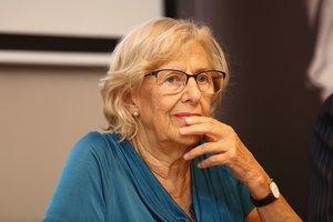 Carmena reconeix que es va equivocar al crear Més Madrid