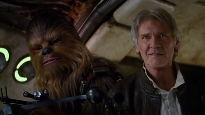 Imágenes del filme 'Star Wars: Episode VII - The Force Awakens'.