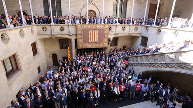 """Puigdemont, al Estado: """"No subestiméis la fuerza del pueblo de Catalunya"""""""