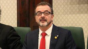 Alfred Bosch, durante una comparecencia en el Parlament