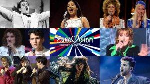 Algunas de las canciones más míticas de la historia del Festival de Eurovisión.