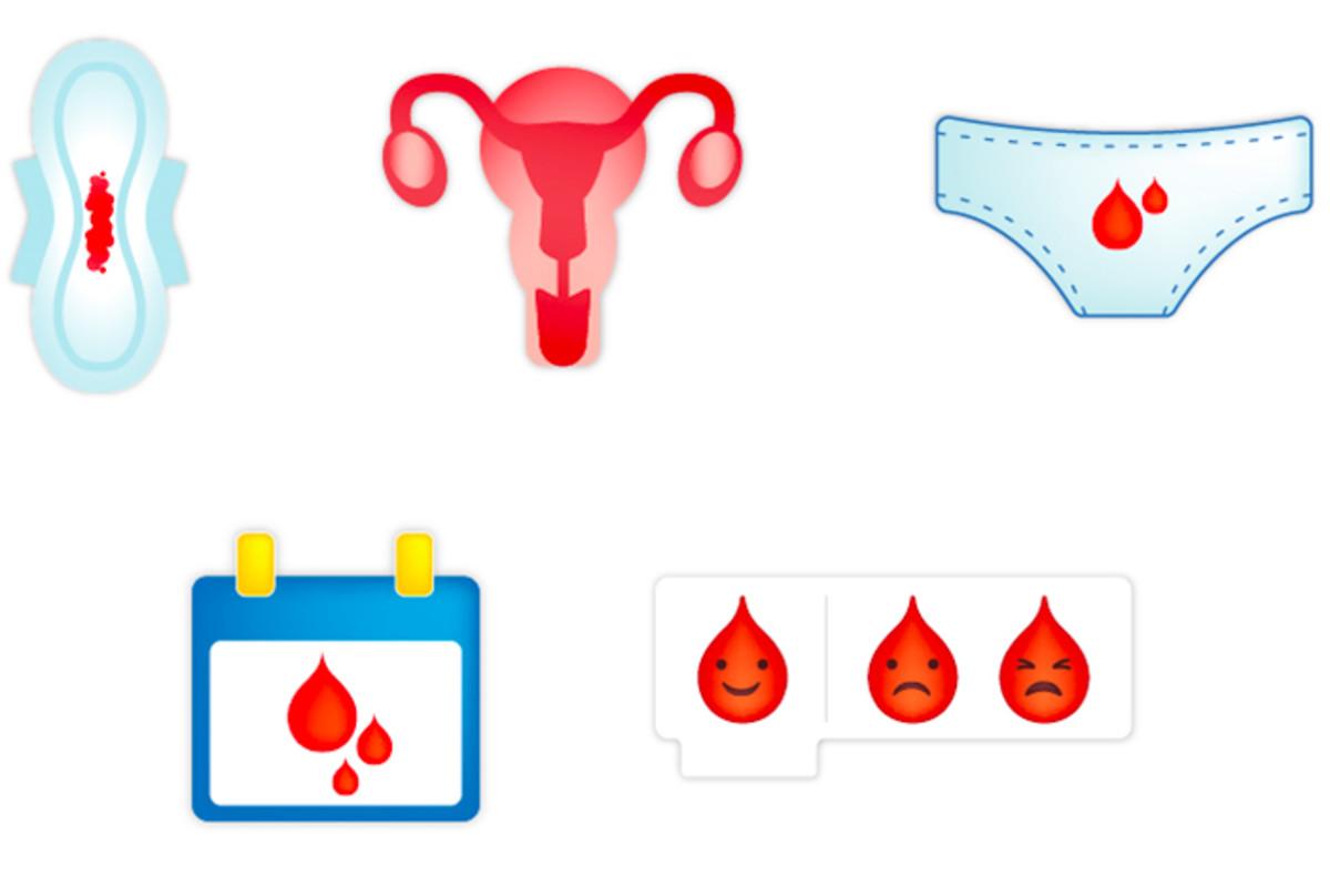 Algunas de las propuestas de emojis de la regla que impulsa la campaña de Plan International.