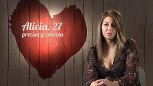 Alicia en 'First Dates'.