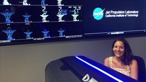 Mar Vaquero, ingeniera de vuelo del Jet Propulsion Laboratory de la NASA. Ha participado en el diseño de las trayectorias dela sonda Cassini en Saturno.