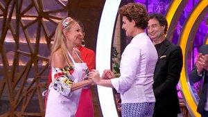 Los dardos de Antonia Dell'Atte a Ana Obregón en su histórico reencuentro en 'Masterchef Celebrity'
