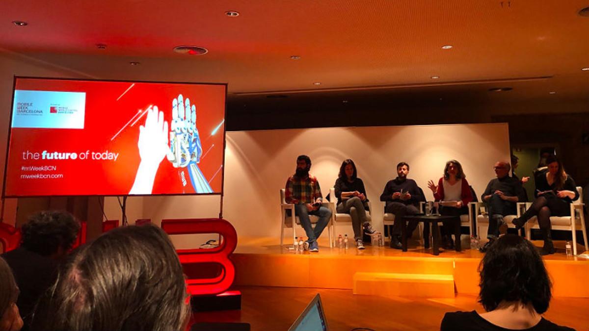 Debate en el mWeek Talks.