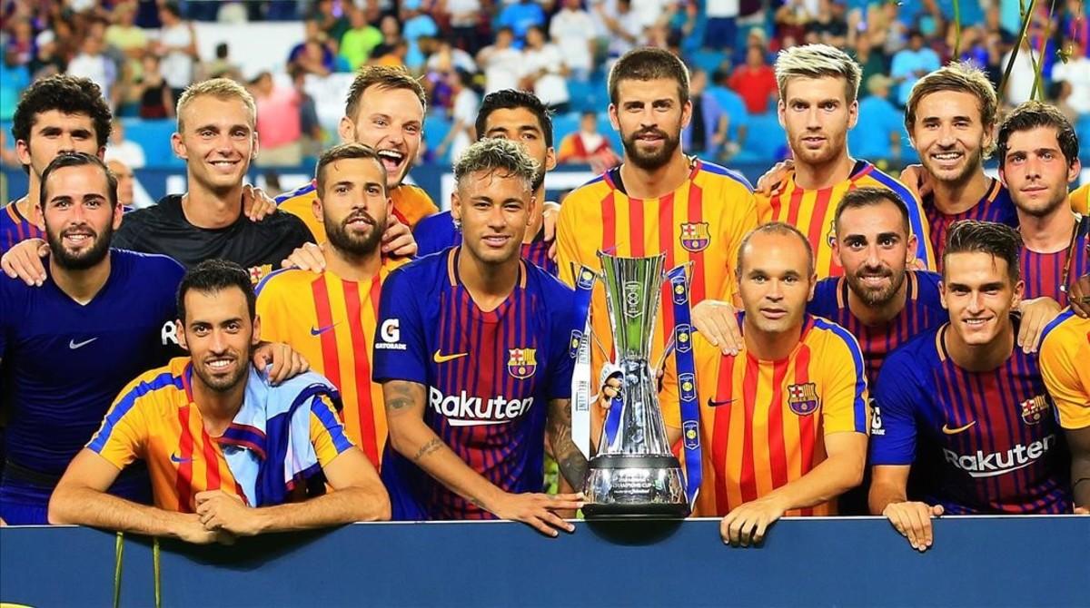 El Barça ya ganó al Real Madrid, en 2017, en el Hard Rock Stadium, de Miami(EEUU).