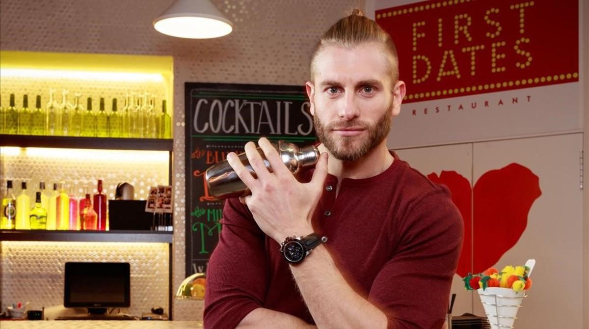 El barman de 'First dates', Matías Roure.