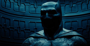 Ben Affleck, caracterizado como Batman para Batman vs Superman