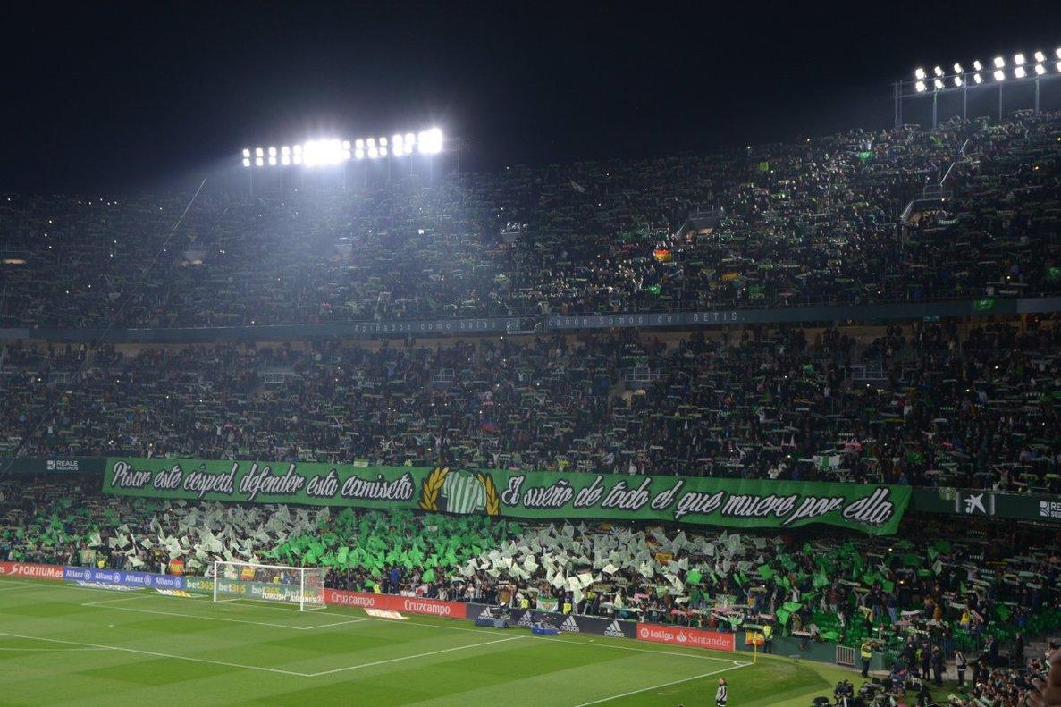 El Benito Villamarín acull la final de la Copa del Rei