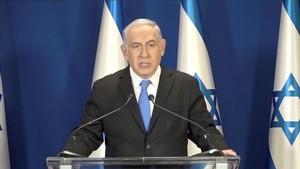 Binyhamin Netanyahu.