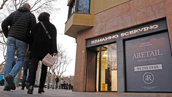 Tanca la botiga de luxe investigada en la trama de blanqueig que esquitxa el líder búlgar