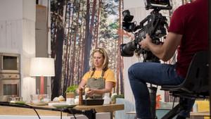 Nina Olsson, en su programa dedicado a la cocina nórdica, en Canal Cocina.
