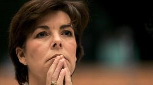 Carolina de Mónaco posa el día de su 50º cumpleaños, el 23 deenero del 2007.