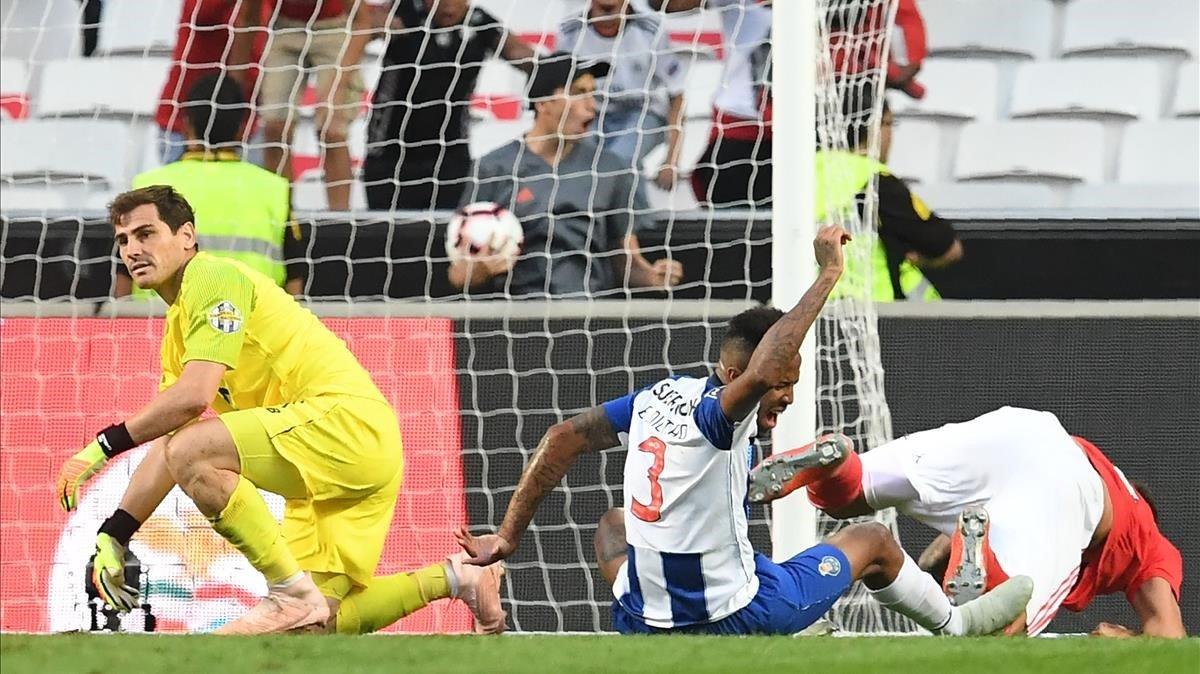 Porto cae por la mínima en el Clásico ante el Benfica