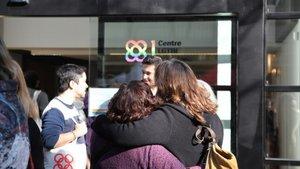 ElCentro LGTBI de Barcelona celebra su primer aniversario.