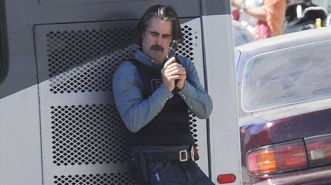 Colin Farrell, en una imagen de la segunda temporada de 'True detective'.