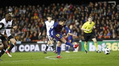 Tele 5 golea con el Valencia-Barça de Copa del Rey