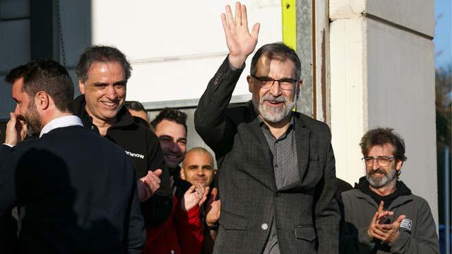 Jordi Cuixart surt de la presó per anar a treballar