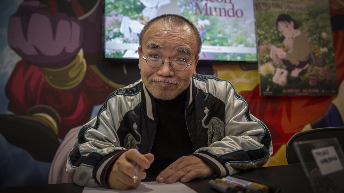 El director de animación Masao Maruyama, este jueves en el Salón del Manga.