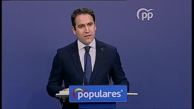 El PP cree que Pedro Sánchez debería pensar en marcharse si se confirman encuestas.