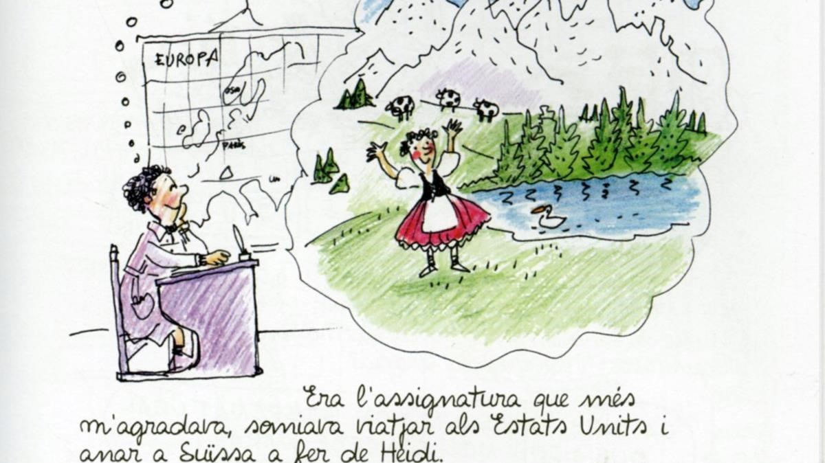 Escena de La nena que volia dibuixar.
