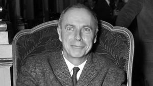 El escritor francés Claude Simon en 1967.